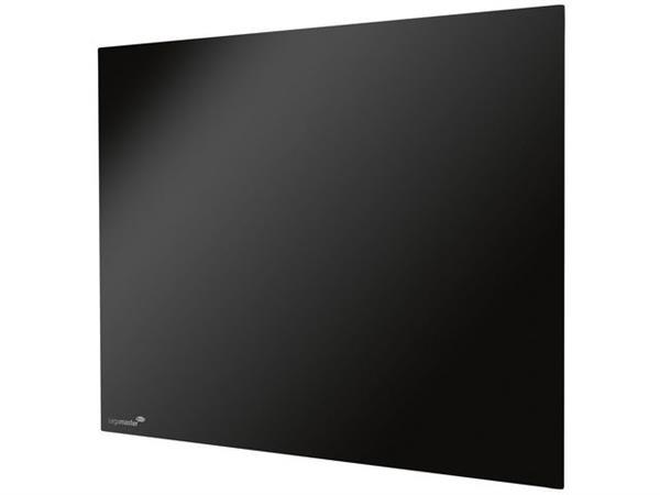 Legamaster Glasbord 90x120 cm zwart