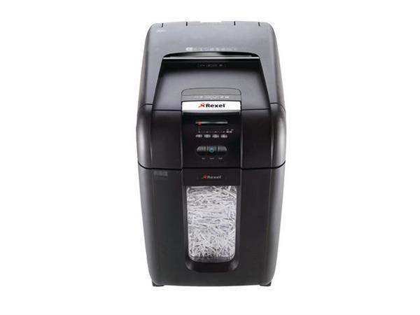 Rexel Papiervernietiger Auto+ 300X Auto+ 300X, snippers 4 x 40 mm, P4, cap. 250 vel