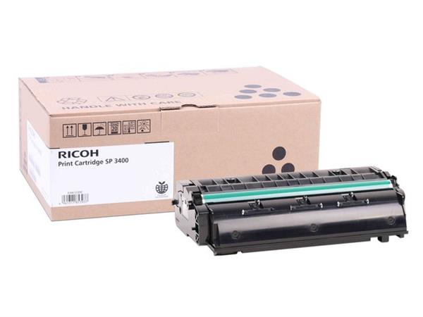 Ricoh SP3400E Toner, Single Pack, Zwart