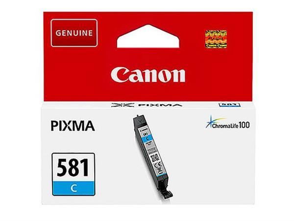 Canon CLI-581 Inktcartridge, Cyaan (blister 1 stuk)