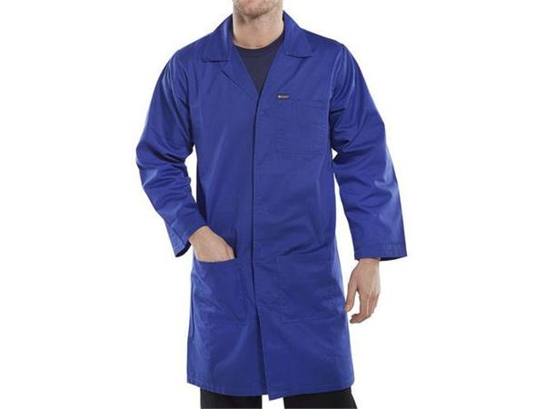 Click Warehouse Werkjas, Maat 40, Koningsblauw