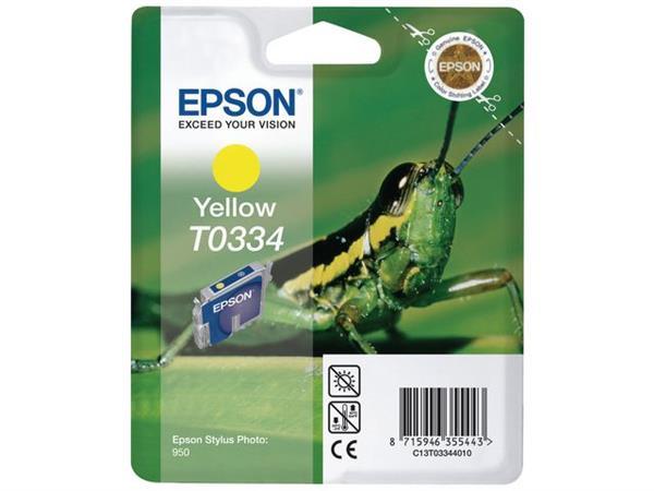 Epson T0334 Toner, geel