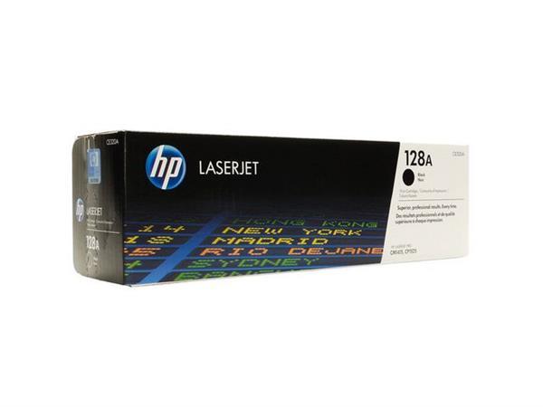 HP 128A Toner, Hoog Rendement, Single Pack, Zwart