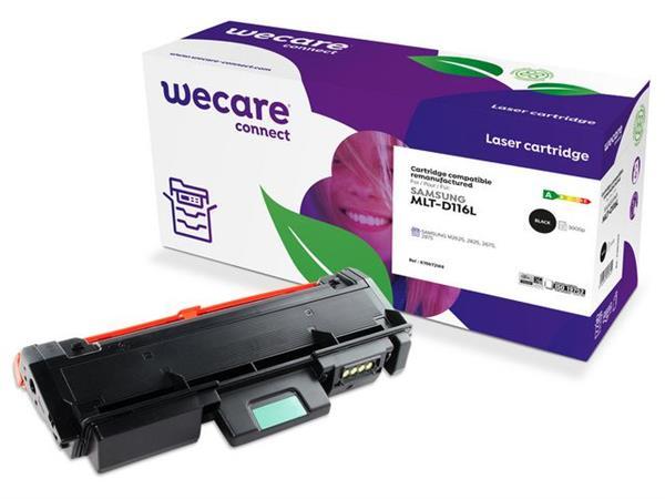 Wecare Gereviseerde toner cartridge, één pakket, MLT-D116L/ELS, 5000p, zwart, geschikt voor Compatibel met SAMSUNG 116L