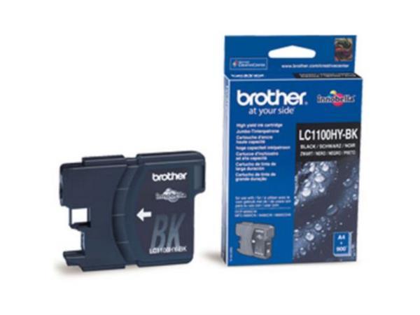 Brother LC-1100HY Inktcartridge, Zwart