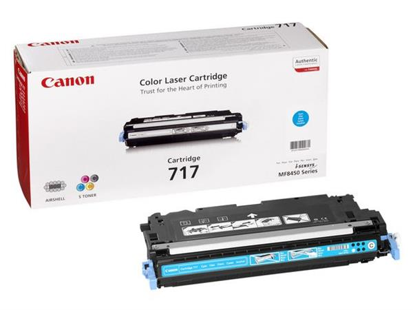 Canon 717 Toner, Single Pack, Cyaan