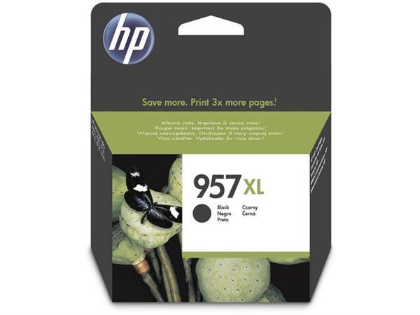 HP 957XL Inktcartridge, Zwart