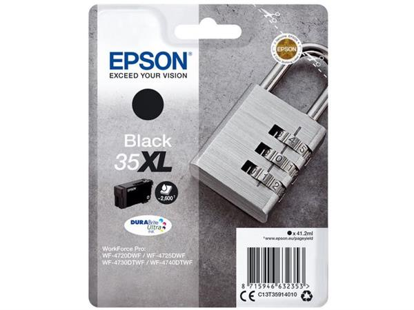 Epson 35XL Toner, single pack, zwart