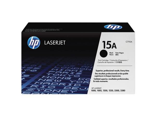 HP 15A Toner, hoog rendement, single pack, zwart