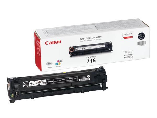 Canon 716 Toner, Single Pack, Zwart