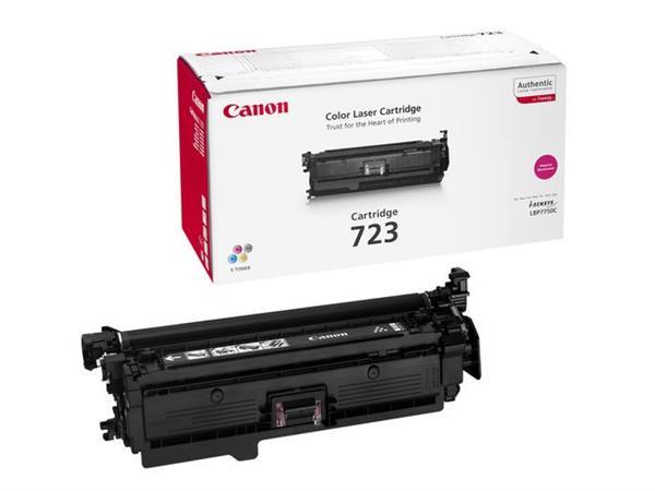 Canon 723 Toner, Single Pack, Magenta