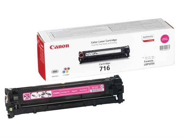 Canon 716 Toner, Single Pack, Magenta
