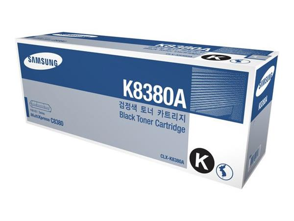 Samsung CLX-K8380A Toner, Single Pack, Zwart
