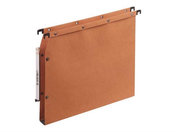 Elba Hangmap AZV Ultimate® Lateraal, A4, 30 mm bodem, oranje (pak 25 stuks)