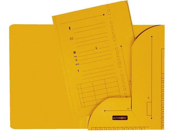 Elba Dossiermap Ultimate® A4, geel (pak 25 stuks)
