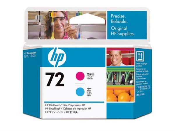 HP Printkop 72 Single Pack C9383A cyaan, magenta
