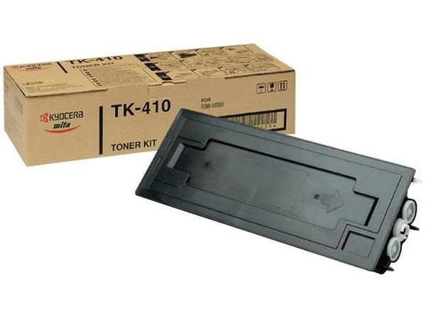 KYOCERA TK 410 Toner, Single Pack, Zwart