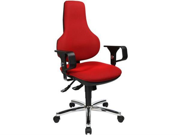 TOPSTAR Ergo Point Deluxe Bureaustoel, Rood
