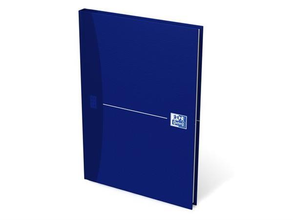 Oxford Office Essentials Notitieboek A5, Gelinieerd, 96 vel, 90 g/m², blauw (pak 5 stuks)