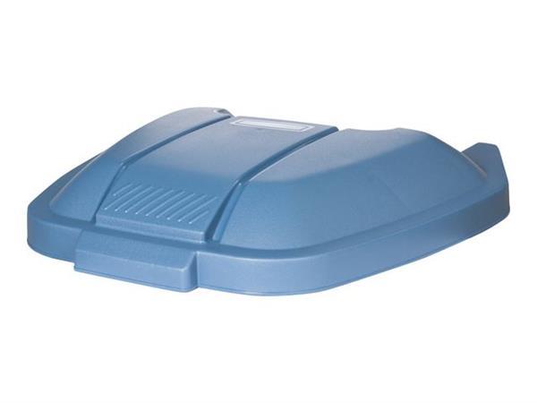 Rubbermaid Commercial Products Deksel voor verrijdbare container blauw