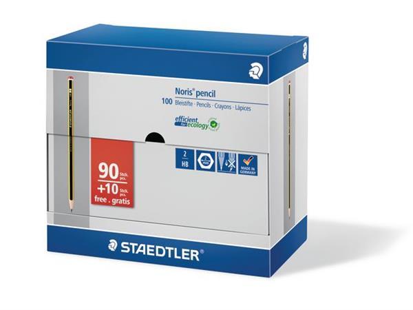 Staedtler Potlood Noris 120 Value Pack HB (doos 100 stuks)