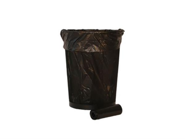 Afvalzak 18 liter Zwart (doos 20 x 50 stuks)