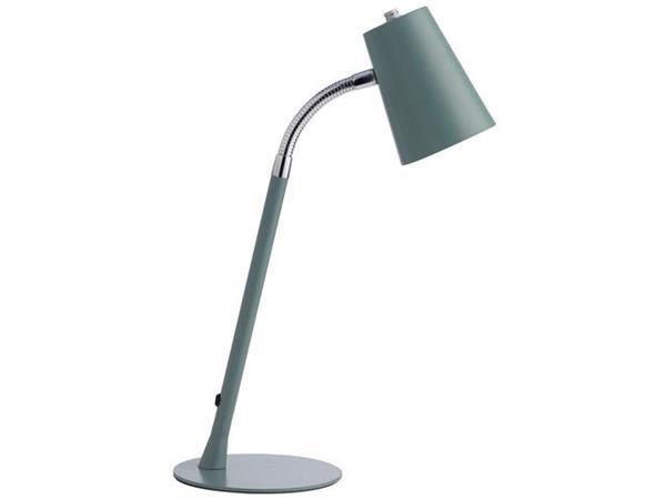Unilux Flexio 2.0 ULX LED-bureaulamp, metaal, blauw