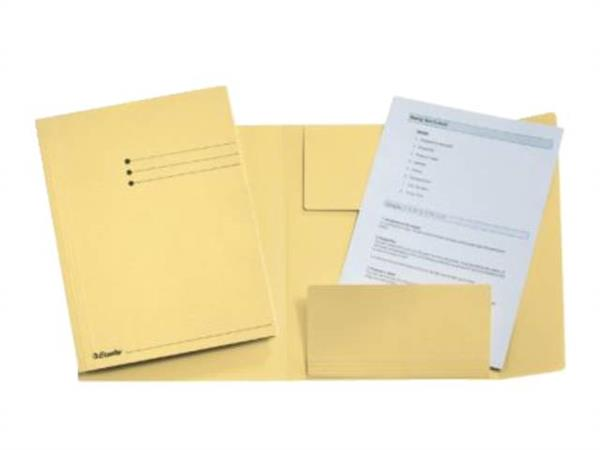 Dossiermap geel, folio