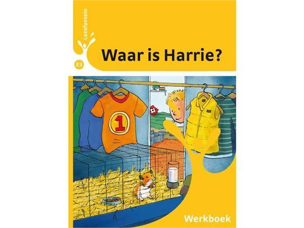 Leesfontein werkboek E3-1 waar is Harrie?