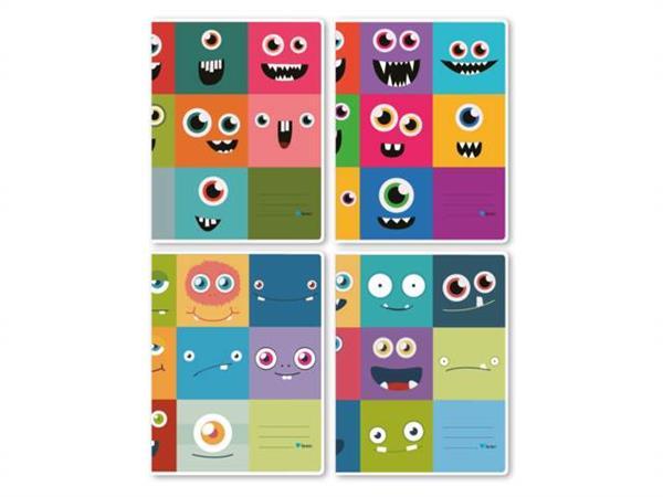 Schriften 9-6-9, monsters, 16,5 x 21 cm, 80 gr
