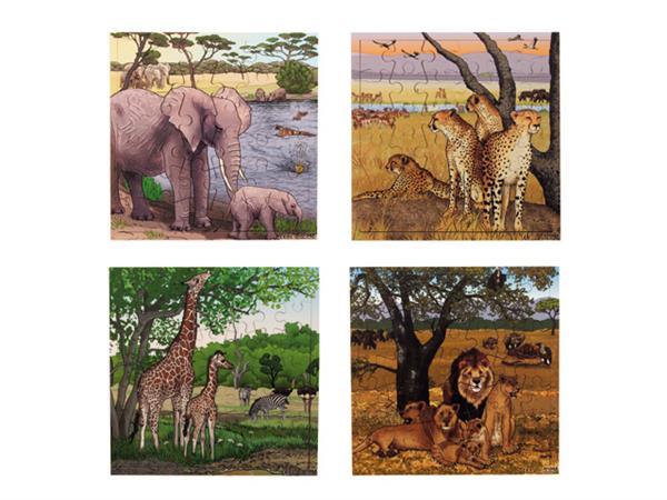 Puzzelserie Safari